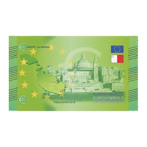 Malte - Billet Thématique euro