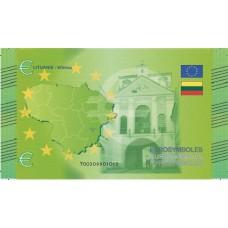 Lituanie - Billet Thématique euro