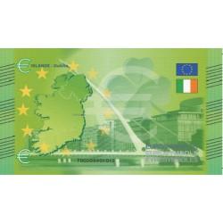Irlande - Billet Thématique euro