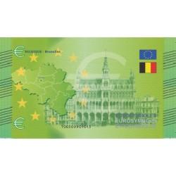 Belgique - Billet Thématique euro