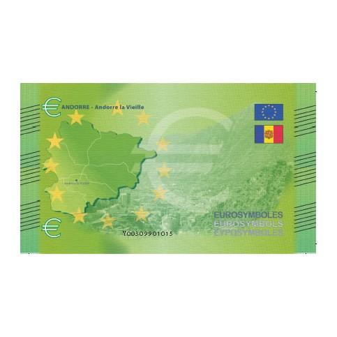 Andorre - Billet Thématique euro