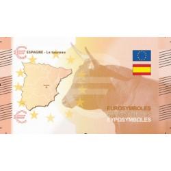 Espagne - Billet Thématique euro