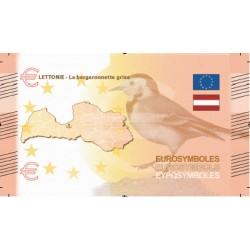 Lettonie - Billet Thématique euro