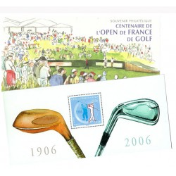 Bloc souvenir de France N°13 - Golf