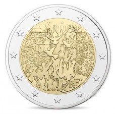 France 2019 - 2 euro commémorative Mur de Berlin