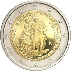 Vatican 2019- 2 euro commémorative Chapelle Sixtine