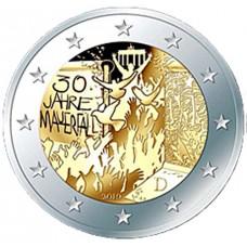 Allemagne 2019 - 2 euro commémorative Mur de Berlin