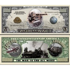 Billet commémoratif 1ère  Guerre Mondiale