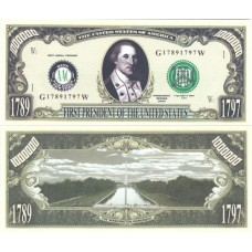 Billet commémoratif George Washington