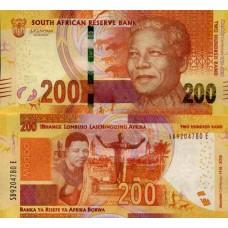 Billet Afrique du Sud 200 Rand - Mandela