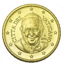 10 centimes Vatican - François 1er