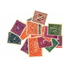 15 timbres différents d' Allemagne