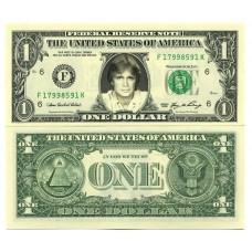 Billet de 1 dollar - Claude FRANCOIS