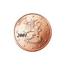 Finlande 1 Cent  2001