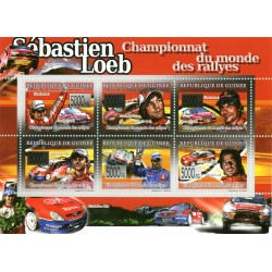 Bloc feuillet Automobile - Rallyes 2008