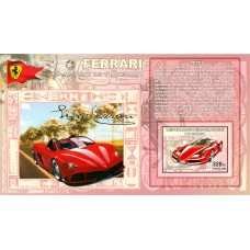 Bloc feuillet Automobile - Ferrari