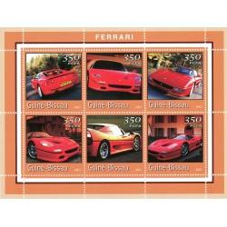 Bloc feuillet Automobile - Ferrari 2001