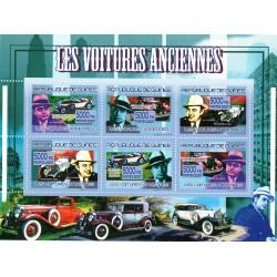 Bloc feuillet Automobile - Les voitures Anciennes 2007
