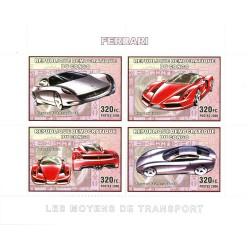 Bloc feuillet Automobile - FERRARI 2006
