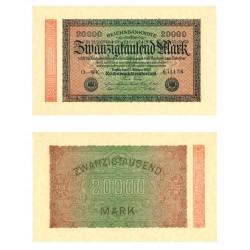 Allemagne 1923 - Billet 20 000 Mark