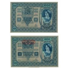 Austro-Hongrois - Billet 1000 kronen