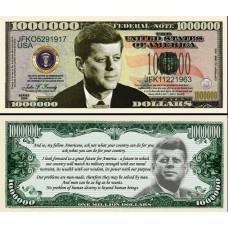 Billet commémoratif John F. KENNEDY