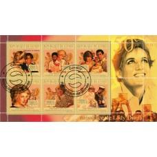Bloc feuillet Lady Diana - République de Guinée 2011