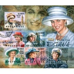 Bloc feuillet Lady Diana - Mozambique 2012