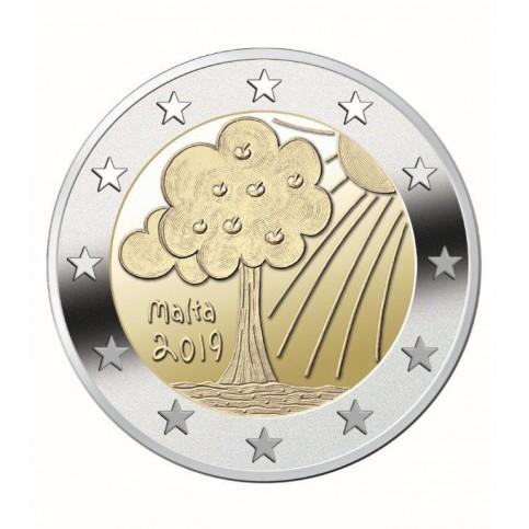 Malte 2019 - 2 euro commémorative Nature