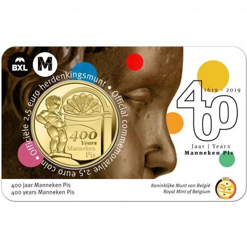 2.5 euros Belgique 2019 Manneken Pis