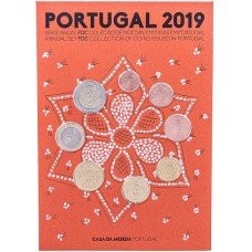 Coffret BE Portugal 2019