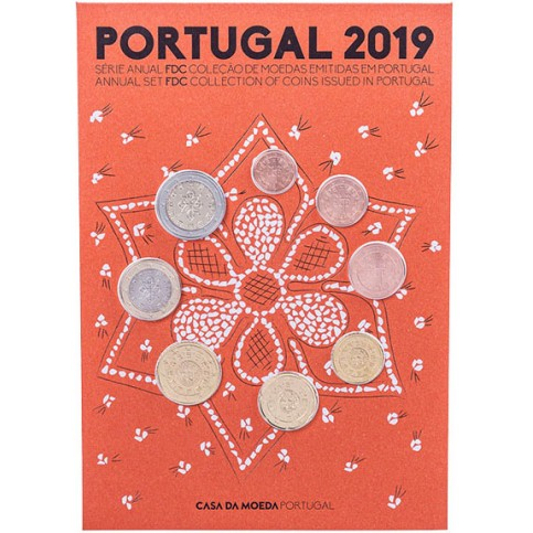 Coffret BE Portugal 2019
