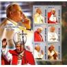 Bloc Feuillet Papes et Vatican - Guinée Bissau 2005