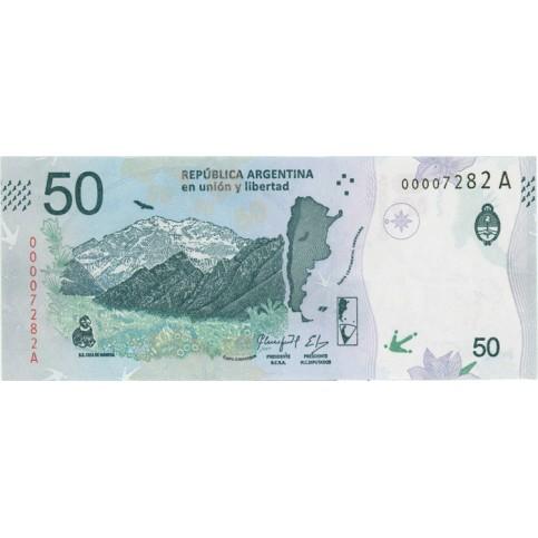 ARGENTINE 2018 - 50 pesos