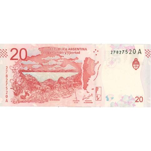 ARGENTINE 2018 - 20 pesos