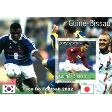 Bloc feuillet Football Guinée Bissau