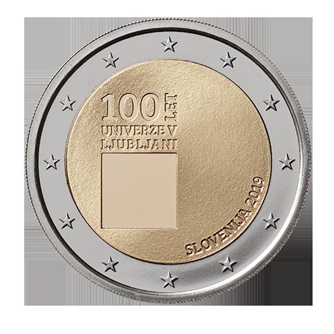 Slovénie 2019 - 2 euro commémorative Ljubljana