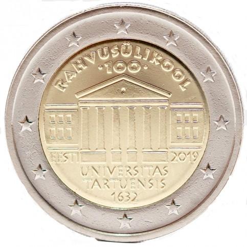 Estonie 2019 - 2 euro commémorative Université Tartu