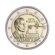 Luxembourg 2019 - 2 euro commémorative Suffrage