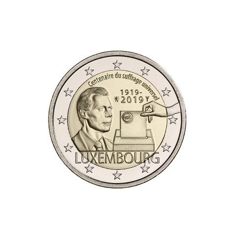Luxembourg 2019 - 2 euro commémorative Suffrage