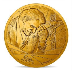Johnny Hallyday - Médaille croix du rockeur