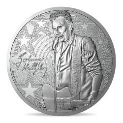 Johnny Hallyday - Médaille guitare