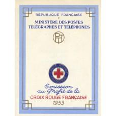 carnet croix rouge 1953