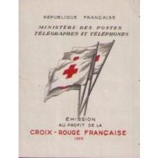 carnet croix rouge 1955