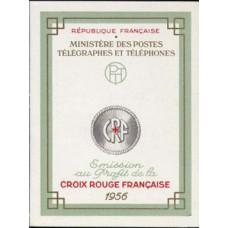 carnet croix rouge 1956