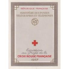 carnet croix rouge 1957