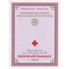 carnet croix rouge 1958