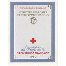 carnet croix rouge 1959