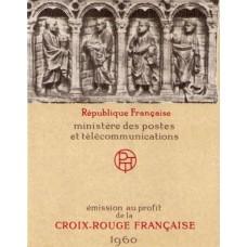 carnet croix rouge 1960