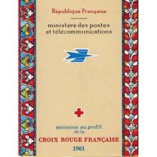 carnet croix rouge 1961
